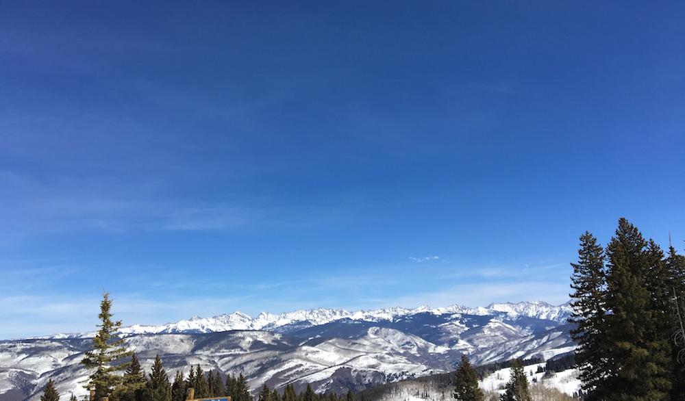 spring ski trip in Beaver Creek, Colorado