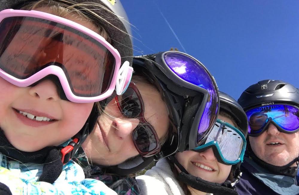 A Montclair NJ landscape designer takes a family ski trip to Colorado