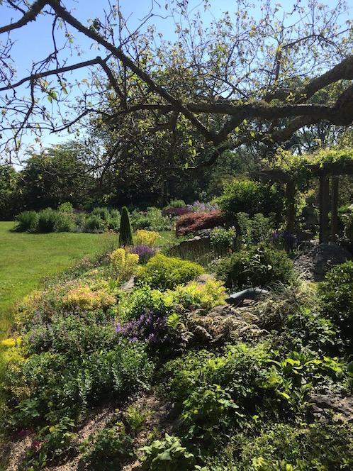 High Elms Garden Little Compton RI