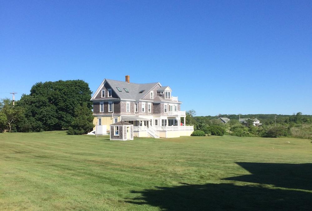 A Montclair NJ landscape designer spends the weekend in a luxury Westport MA home