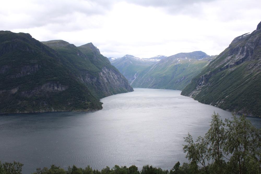 mountain landscape in Norway
