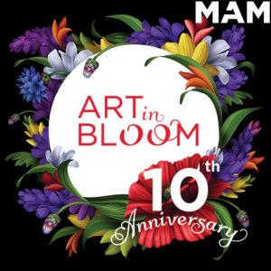 Art in Bloom in Montclair