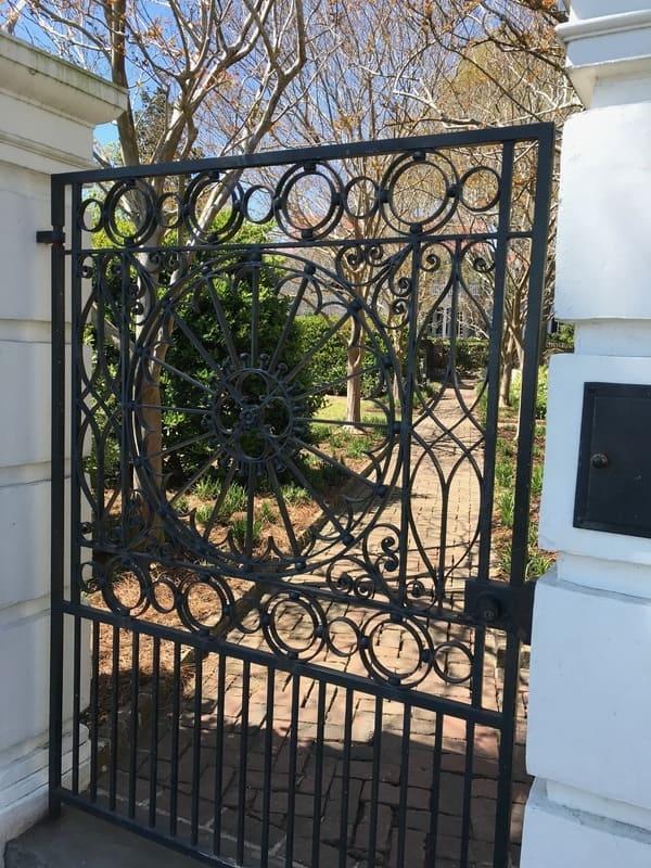 Charlestone Gate Twig and Vine