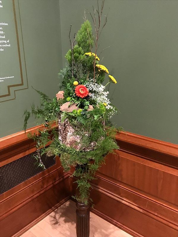 Floral Design Art Piece